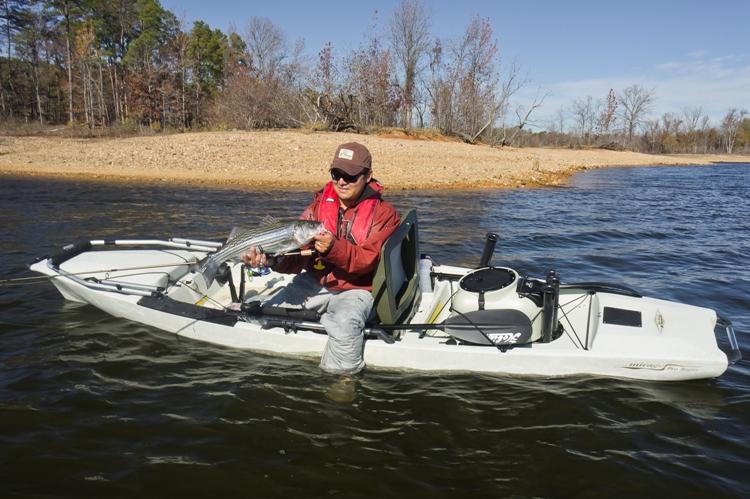Quest watersports kayak fishing for Hobie fishing kayak