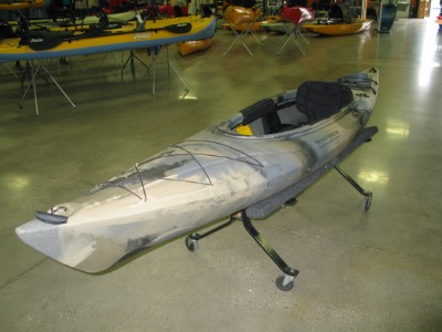 Quest watersports 2015 field stream used eagle run 12 for Field and stream fishing kayak