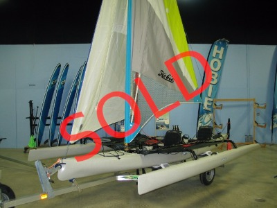 2017 Hobie Used Mirage Tandem Island with Trailer