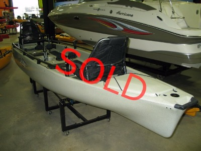 Quest Watersports:: 2016 Hobie Used Mirage Pro Angler 17T - Search