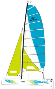 2021 Hobie Cat Getaway Sailboat