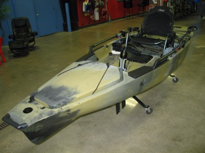Quest Watersports 2017 Hobie Used Mirage Pro Angler 14